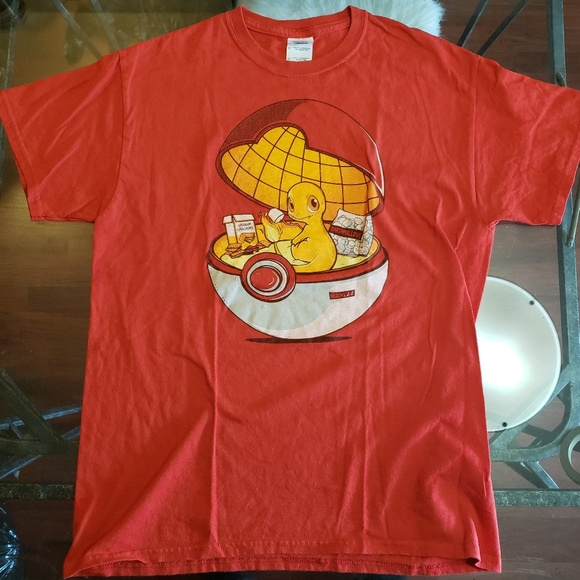 95c17306 Shirts | Charmander Pokeball Camping Shirt | Poshmark